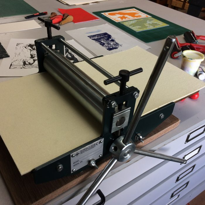 Etching Press Coming Soon!