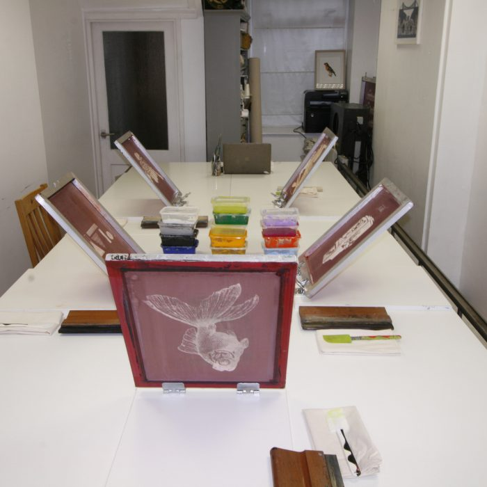 Screen Printing Monday & Tuesday 6-8:30PM – Min 6 students – £65pp