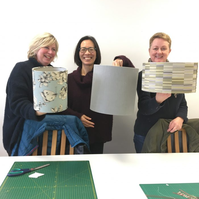 Lampshade Making Workshop – 2hrs £45pp